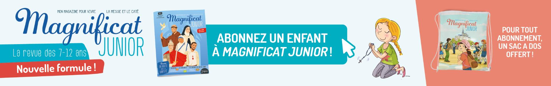 Magnificat Junior Nouvelle formule